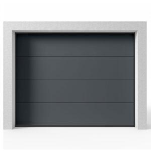 Garageport Takskjutport Modern Antracit, 2400x2125