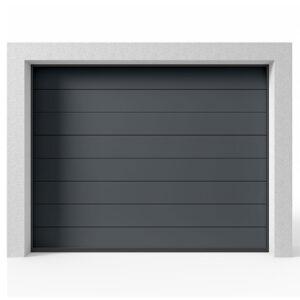 Garageport Takskjutport Modern Panel Antracit, 2400x2000